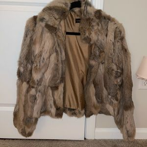Adrienne Landau Women's Fur Coat